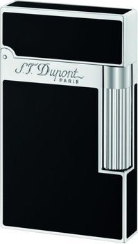 Ligne 2 Lighter Black Chinese Lacquer And Palladium