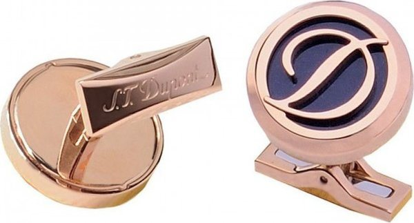 Cuff Links – Inox Pink Gold Pvd