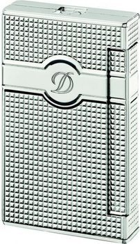Ligne 2 Torch Lighter Diamond Head Pattern And Palladium