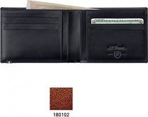 Line D Wallet for Credit Cards And Identity Papers – Brown Elysée