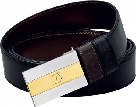 Line D Belt Business Reversible Bicolor Delta Box